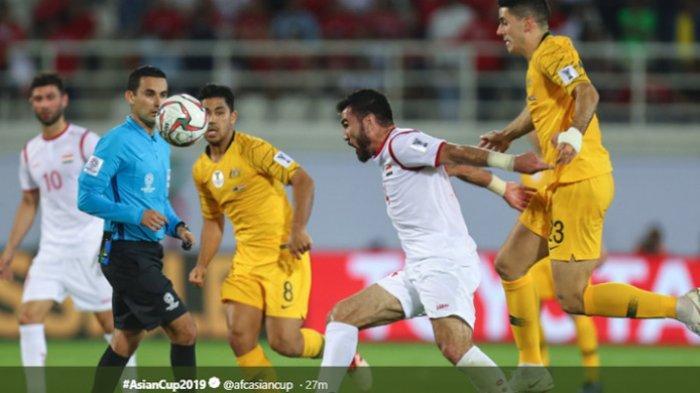Hasil Piala Asia - Australia Susul Yordania ke Perdelapan Final Piala Asia 2019 Usai Tekuk Suriah