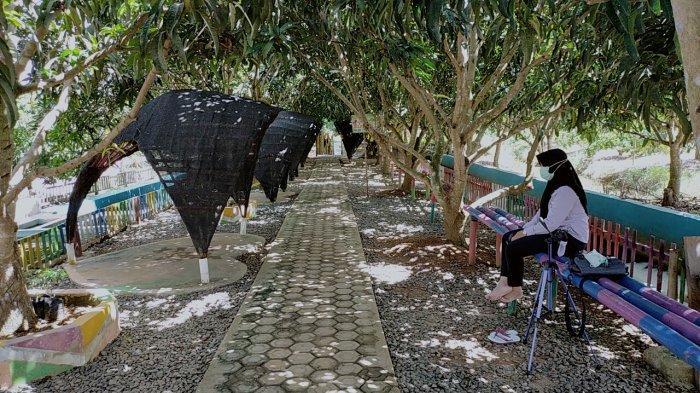 Travel: Taman Buah Lintang Batang Kotim, Ada Tempat Untuk Beristirahat Bagi Pengunjung