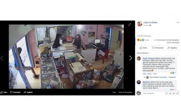 VIRAL Video Detik-detik Pria di Sampit Injak Kepala Kucing hingga Mati, Pemilik Toko Ngeri Melihat