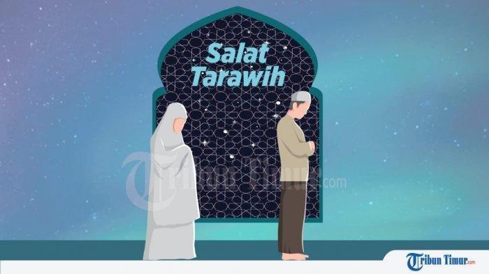Begini Seruan Bilal dan Jawaban Jemaah Saat Sholat Tarawih yang Ditutup Doa Kamilin