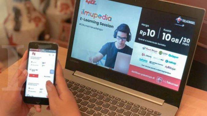 Promo Paket Kuota Pendidikan Telkomsel, Mulai Rp 1.500 untuk 1GB Per Hari hingga Rp 40.000 22GB