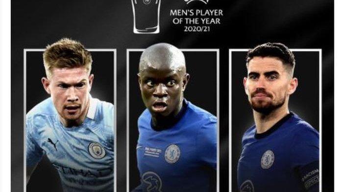 Tidak Ada Messi dan Ronaldo, Inilah Nominasi Pemain Terbaik UEFA 2020-2021, Semua dari Liga Inggris