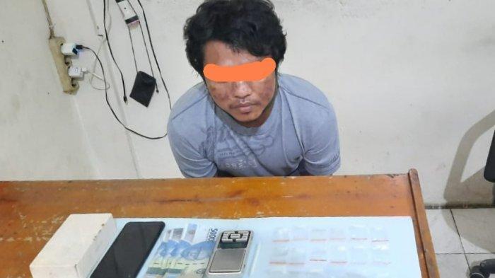 Ebong Ditangkap di Barak Sewaannya, Polisi Sampit Sita Sabu 5,17 Gram