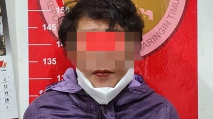 Perempuan Warga Baamang Sampit Diduga Pengedar Sabu Ditangkap di Rumahnya, 43 Paket Sabu Diamankan