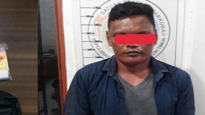 Dikabarkan Sering Transaksi Narkoba, Pria di Sampit ini Tak Berkutik Kedapatan Simpan Sabu