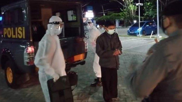 Covid-19 di Palangkaraya, Bikin Resah Tidak Isolasi Usai Positif Antigen, Pria Ini Diamankan Polisi