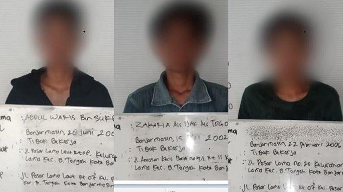 Tiga Tersangka Pembunuh Pengamen Pasar Lama Banjarmasin Diringkus, Polisi Ungkap Motif Penganiayaan