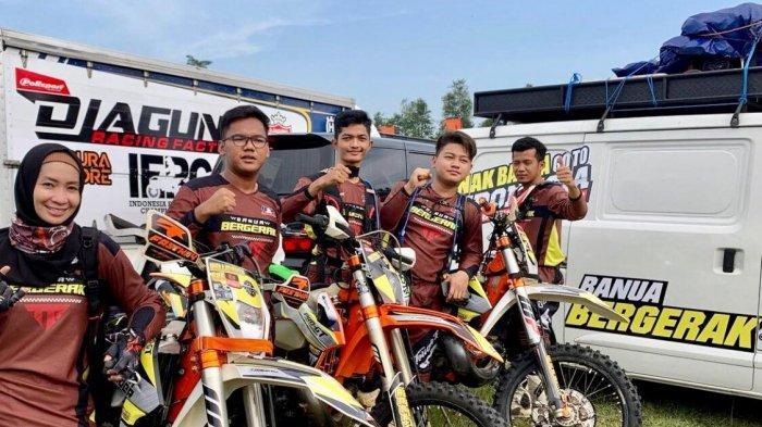 Pembalap Kalsel Juara 2 dan 10 di Ajang Balap Indonesia Enduro Rally Championship