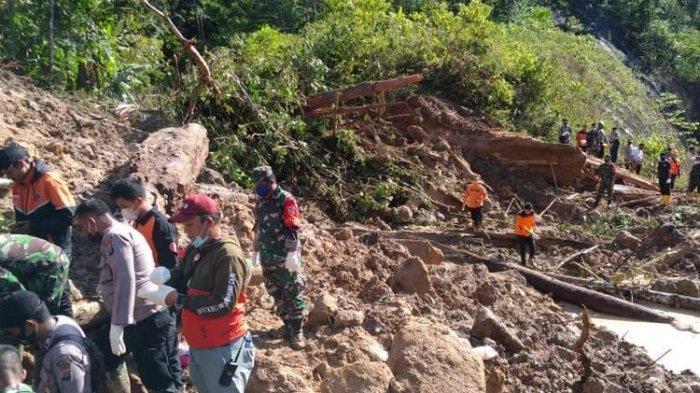 Tanah Longsor di Tapanuli Selatan Tewaskan 3 Warga