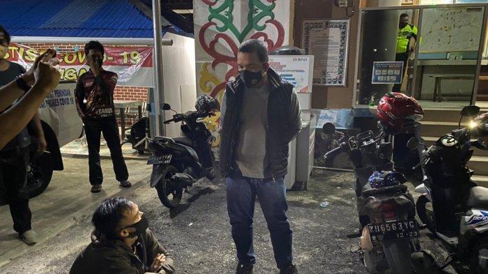 Terjaring Bawa Obatan Terlarang, Pemuda Asal Banjarmasin Kalsel Ini Diamankan Samapta Polda Kalteng