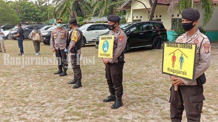Satgas Penanganan Covid-19 Palangkaraya Gencarkan Patroli Sosialisasikan Protokol Kesehatan