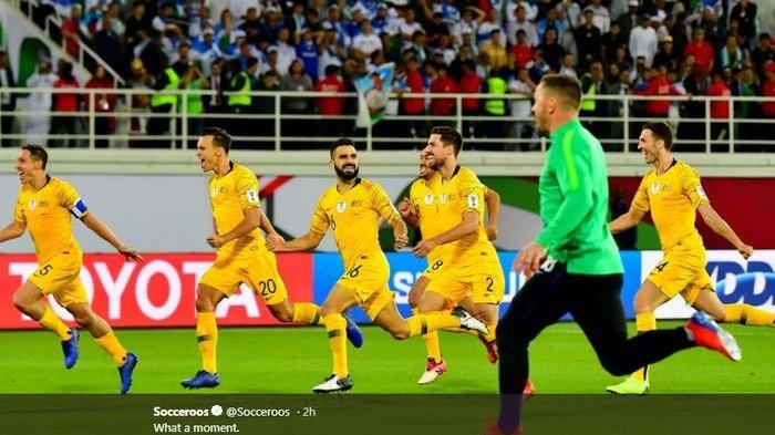 Australia Menang Melalui Adu Penalti Vs Uzbekistan Hingga Lolos ke Perempat Final Piala Asia 2019