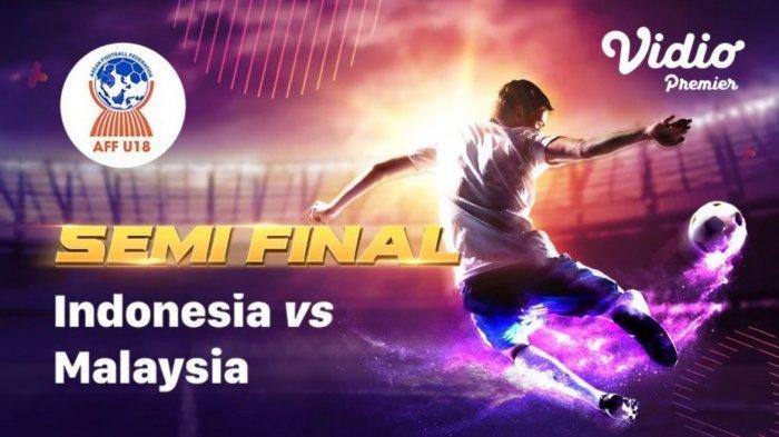 Timnas Indonesia U 18 Vs Malaysia Live SCTV dan Live Streaming Vidio.com, AFF U 18 Championship 2019