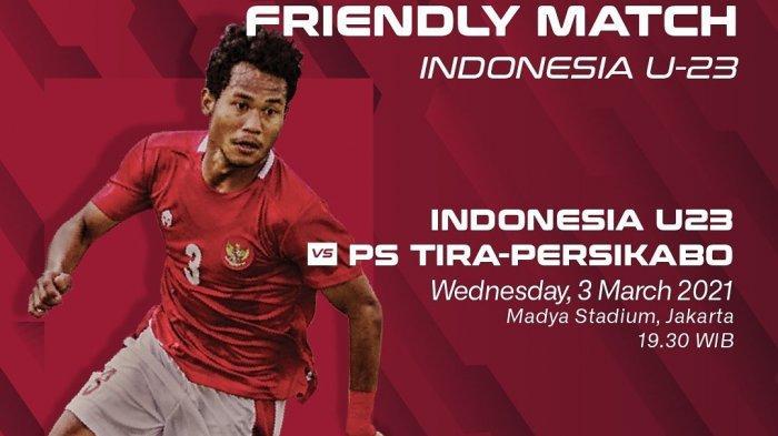 Laga Timnas U-23 Indonesia vs Tira Kabo Batal Mendadak, Polisi Ungkap Fakta Sebenarnya