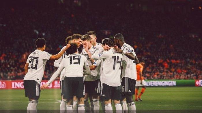 Kalahkan Belanda 2-3, Jerman Bertengger di Posisi Kedua Grup C Kualifikasi Piala Eropa 2020