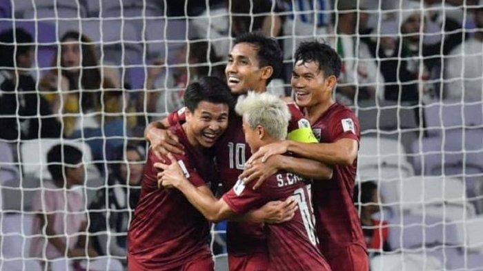 Thailand dan Tim Lainnya Lolos ke Babak 16 Besar dan Hasil Laga di Grup A di Piala Asia 2019