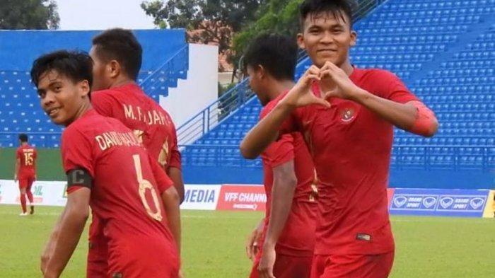 Lolos ke Semifinal Piala AFF U-18 2019, Esok Lusa Indonesia Kontra Myanmar Rebutan Juara Grup