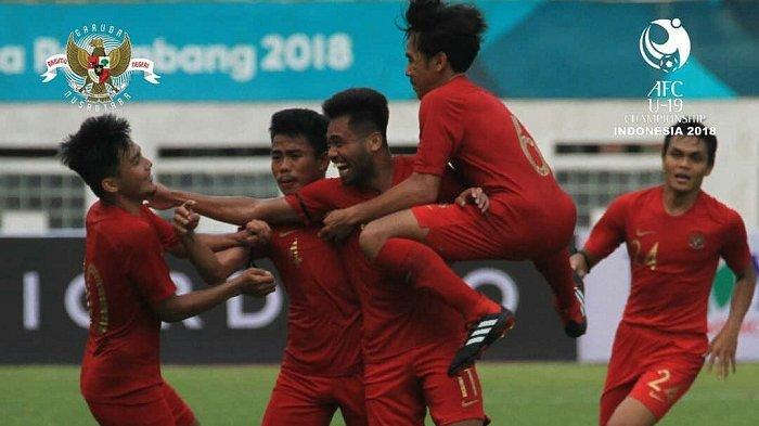 Jadwal Piala Asia U-19 2018 - Timnas Taiwan Menjadi Ujian Pertama Timnas U-19 Indonesia