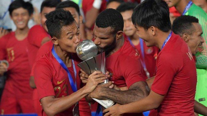 Timnas Indonesia U-22 Juara Piala AFF 2019 Bakal Dapat Bonus Sebesar 2,1 Miliar