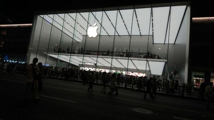 Toko Apple di Hangzhou, Tiongkok
