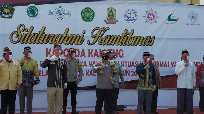 Polisi Gandeng Tokoh Masyarakat Sukseskan Pilkada Gubernur dan Wakil Gubernur Kalteng
