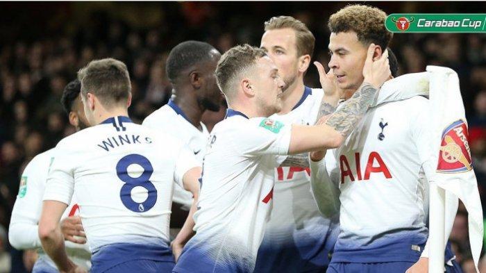 Tottenham Hotspur Melaju ke Semifinal Usai Tekuk Arsenal di Piala Liga Inggris