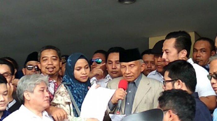 Amien Rais Minta Presiden Jokowi Copot Kapolri