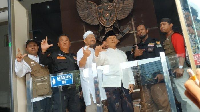 Amien Rais ke Gedung KPK, Terkait Pencekalan Wakil Ketua DPR RI?