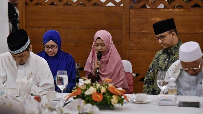 Rafdah Farnidah, Juara 2 Hifdzil Quran Sedunia Bikin Anies Baswedan Teteskan  Mata