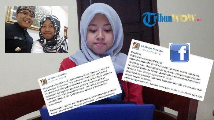 Afi Mendadak Unggah Tulisna Ini Setelah Didatangi GP Ansor dan Banser NU