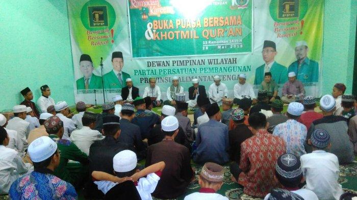 PPP Kalteng Khataman Quran Bersama Anak Panti Asuhan