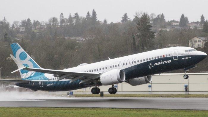 JT 610 Jatuh di Laut, Begini Penampakan Pesawat Boeing 737 MAX 8 Saat Terbang Perdana di Amerika
