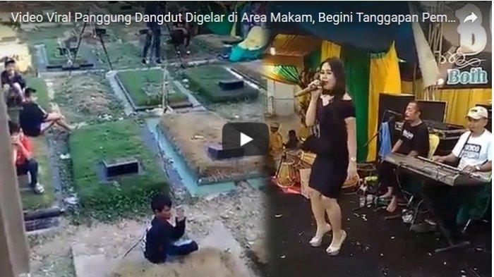 VIDEO: Viral Dangdutan di Kuburan, Ini Pembelaan Dinas Kehutanan DKI Jakarta