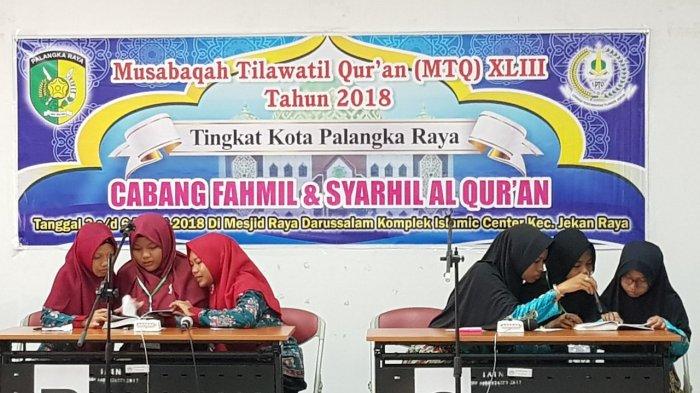 Jadi Duta Jekan Raya, Fahmil Quran MTs Annur Lolos ke Babak Final MTQ Palangkaraya