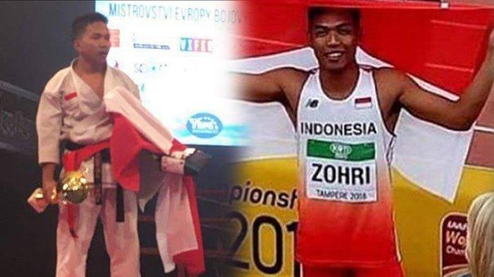 Tidak Seberuntung Zohri, Juara Dunia Karate Asal Banjarmasin Ini Hanya Jadi Pegawai Toko