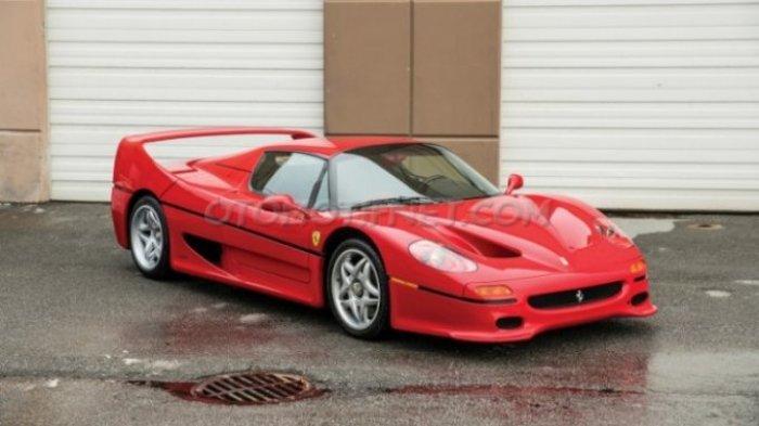 Lagi Krisis Keuangan, Mike Tyson Jual Ferrari F50 Kesayangan
