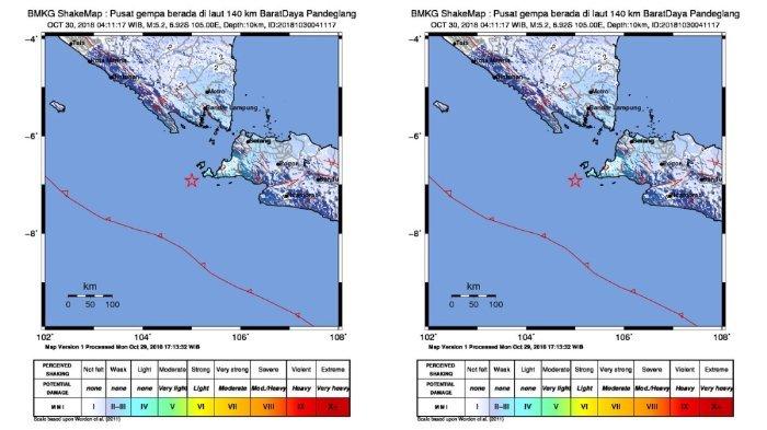 Banten Diguncang Gempa 5,2 SR, Getaran Terasa Sampai Jakarta