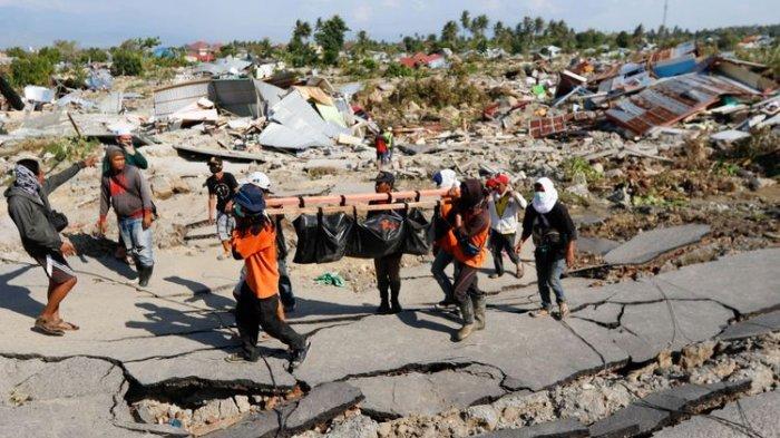 KRI Spica 934 Temukan Longsoran Dasar Laut di Teluk Palu, Diperkirakan Asal Tsunami
