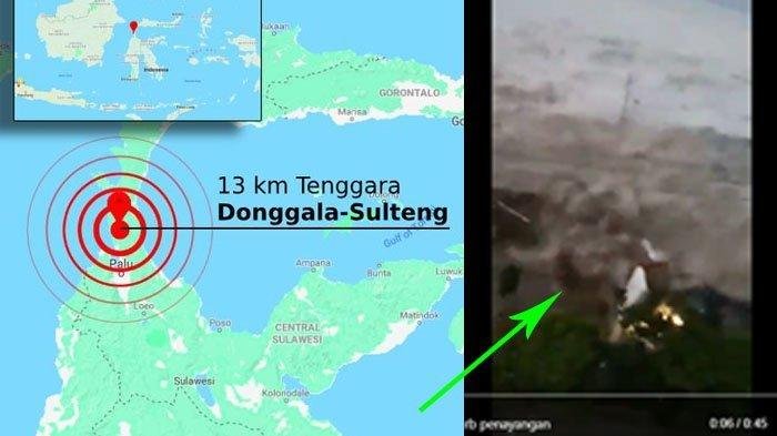 Rekaman Video Amatir Warga Saat Tsunami Terjang Palu dan Donggala Sulawesi Tengah