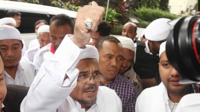 Rizieq Shihab Sampaikan Pesan Khusus kepada Presiden Jokowi
