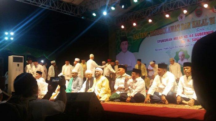 Kalteng Berselawat, Gubernur Sugianto: Mudahan Jadi Berkah Buat Indonesia