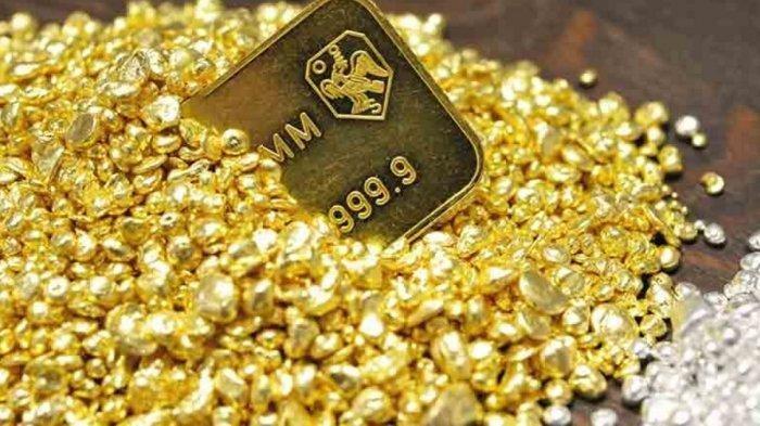 Harga Emas Merosot, Terpengaruh Suku Bunga dan Kebijakan Moneter