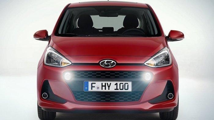 Lebih Bahagia, Begini Tampang Baru Hyundai Grand i10 facelift