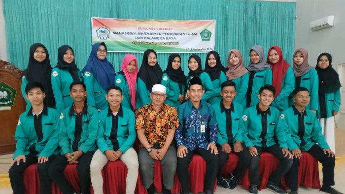 Mahasiswa IAIN Palangkaraya Belajar Manajemen Tata Kelola Kurikulum ke Balai Diklat Keagamaan