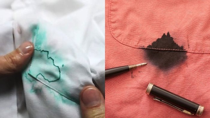 Noda Tinta di Pakaian Hilang dengan Salah Satu dari 7 Bahan Rumah Tangga Ini
