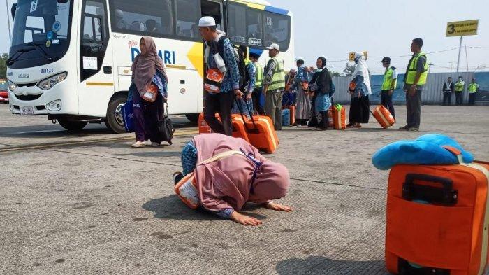 Jamaah Haji Keloter 10 Asal Kalteng Mulai Tinggalkan Asrama Haji, Panitia Siap Sambut Keloter 11