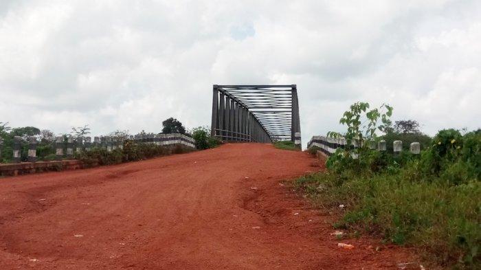 Pembangunan Jembatan Sungai Mentaya Belum Rampung, Ini Kendalanya