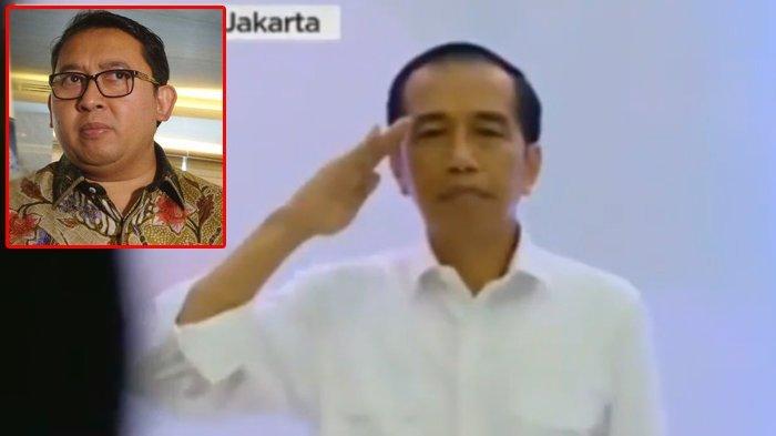 Hormat Saat Indonesia Raya Berkumandang di KPU, Fadli Zon: Jokowi Harus Jelaskan