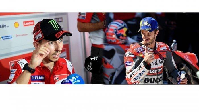 Ungkap Suasana Tegang di Garasi, Andrea Dovizioso Sebut Jorge Lorenzo Orang Aneh