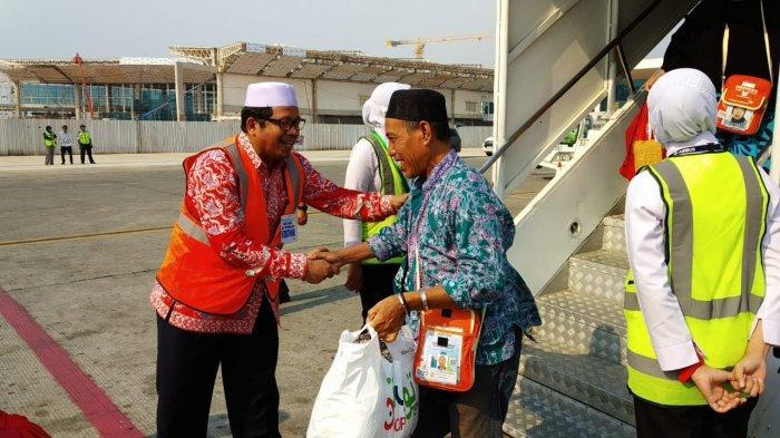 Jamaah Haji Terakhir dari Kalteng Tiba, Ini Harapan Kepala Kanwil Kemenag
